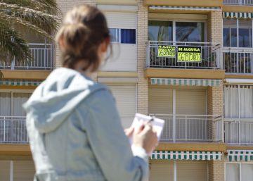 Quién alquila piso en España: varón de 32 años que gana 1.185 euros al mes