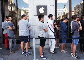 Hacienda investiga las tiendas de Apple en España