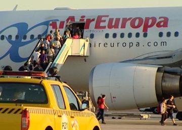 Los pilotos de Air Europa harán huelga del 30 de julio al 2 de agosto