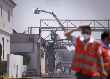 Ybarra tratará de mantener la producción pese al incendio