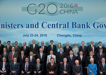"""El G20 dice estar """"bien posicionado"""" para afrontar el Brexit"""