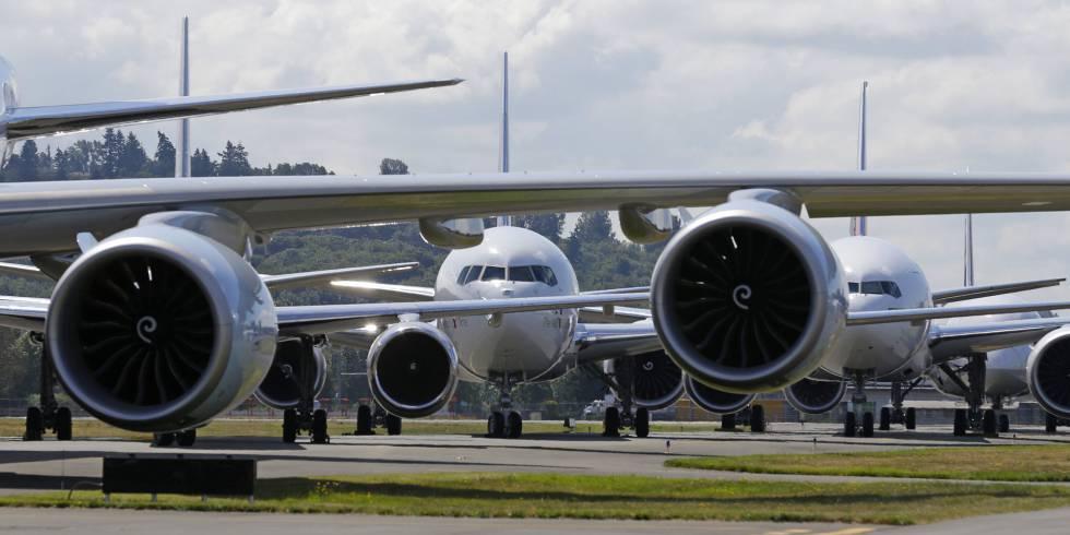 Aviones de la serie 7 de Boeing en Seattle