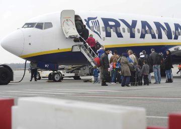 Ryanair bate récord de pasajeros en julio