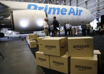 Amazon echa a volar: presenta su propia flota de aviones