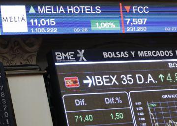 Los hoteles Meliá vuelven con subidas al Ibex, donde el turismo gana peso