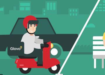 La 'app' de reparto a domicilio Glovo consigue cinco millones para crecer