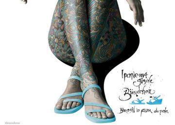 Grendene, a los pies de Gisele