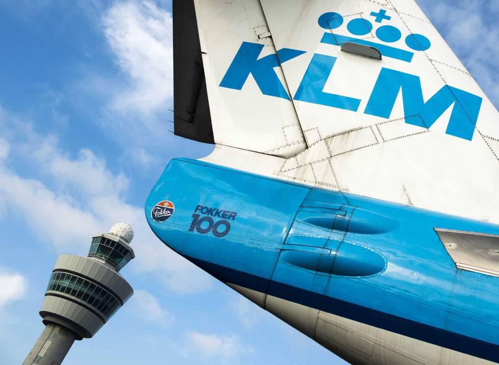 Paro de pilotos KLM