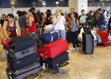 Los aeropuertos españoles baten récord de pasajeros en julio