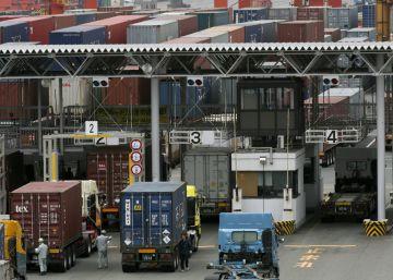 Las exportaciones de Japón caen un 14%, su mayor ritmo desde 2009