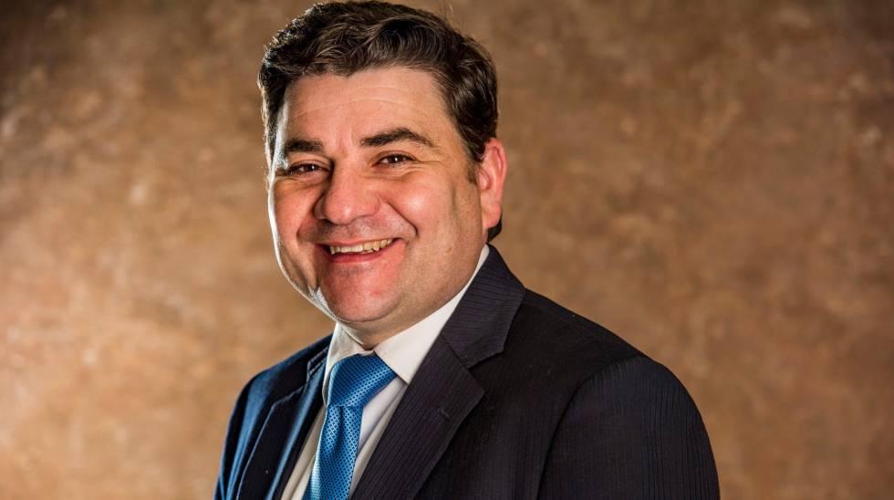 Mario Migueláñez, en una foto publicada en el perfil de Facebook de la empresa.