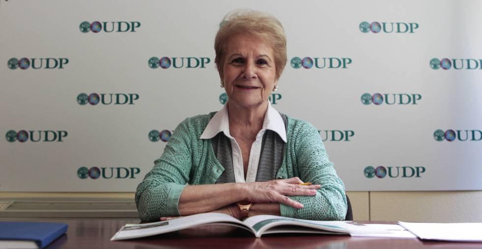 Francisca Tricio, gerente de la Unión Democrática de Pensionistas.