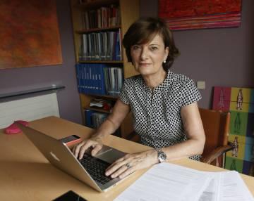 La psicóloga Rosa Zappino trabaja como 'coach' a los 68 años.