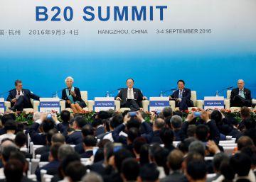 Los líderes mundiales buscan revitalizar la economía global
