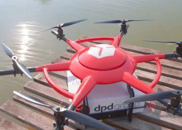 Seur presenta en París un dron de reparto para paquetes de hasta tres kilos
