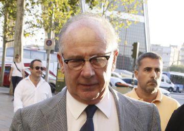 """Rodrigo Rato defiende que contratar a su cuñado """"benefició"""" a Bankia"""