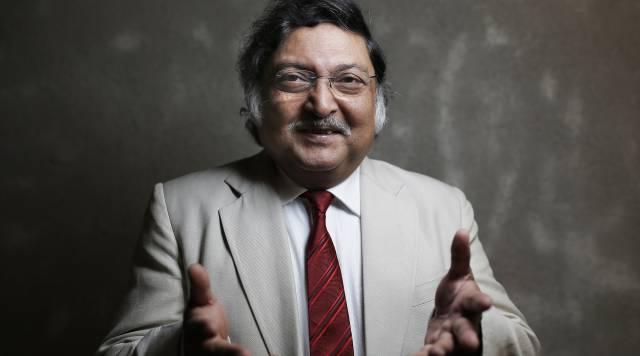 Sugata Mitra en el espacio Medialab-Prado en Madrid.
