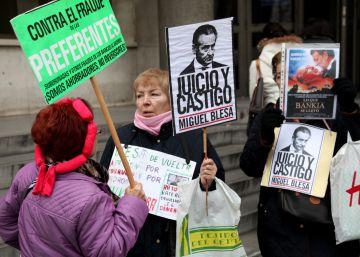 Visto para sentencia el juicio de las preferentes de Caja Madrid