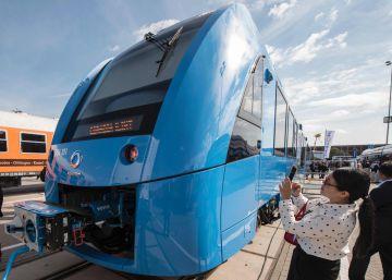 Alstom presenta el primer tren de pasajeros impulsado por pilas de hidrógeno