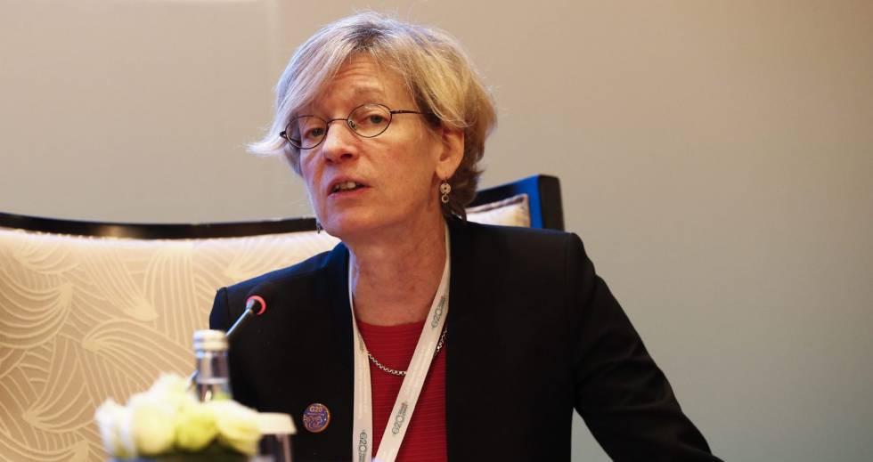 La economista jefe de la Organización para la Cooperación y el Desarrollo Económico (OCDE), Catherine Mann.