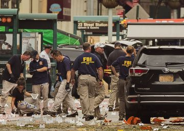El FBI busca a dos posibles cómplices por las bombas de Nueva York