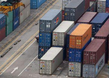 Las exportaciones españolas se ralentizan con la bajada del comercio mundial