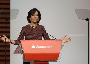 El Santander gana 4.606 millones, un 22,5% menos hasta septiembre