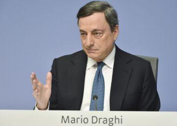 Draghi afirma que hay demasiados bancos en Europa y que por eso no son rentables