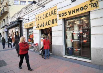 Las quiebras de pymes en España casi cuadruplican los niveles previos a la crisis