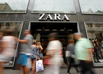 En la imagen una tienda de Zara en Barcelona.