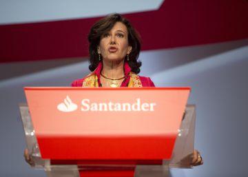 El Santander mantiene el compromiso de aumentar el dividendo hasta 2018