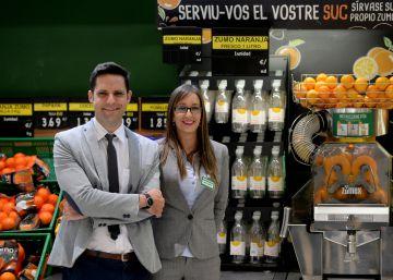 Mercadona lanza el zumo de naranja recién exprimido