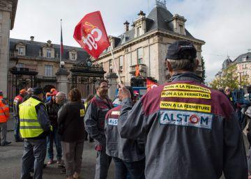 Francia compra 21 trenes a Alstom para salvar su planta más emblemática