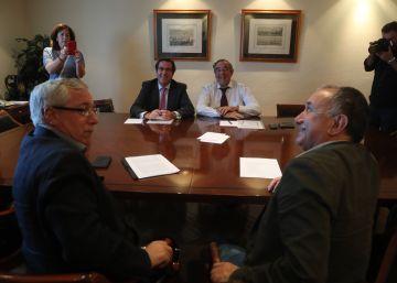 Sindicatos y patronal abren conversaciones sobre el fallo de la UE de los temporales