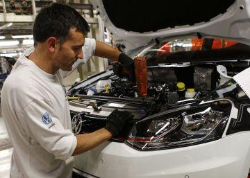 La producción industrial sigue un 23% por debajo de 2008