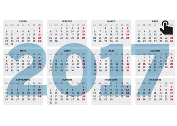 El calendario laboral de 2017 ya es oficial: nueve festivos en toda España