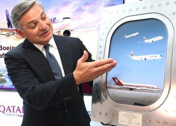 Qatar compra 40 aviones Boeing por 10.500 millones
