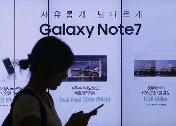 Samsung recorta drásticamente sus previsiones de beneficios por el Note 7