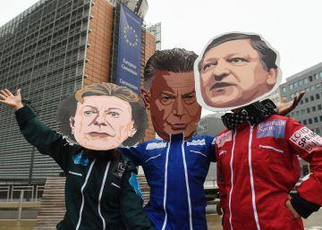 150.000 firmas llegan a Bruselas para exigir medidas contra Barroso
