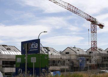 El precio de la vivienda crece en España más que en la eurozona