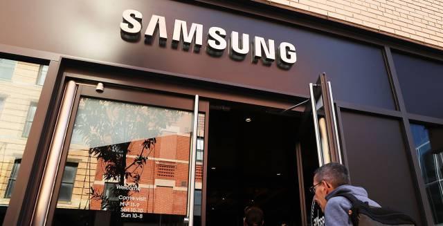 Tienda de Samsung en Manhattan, en Nueva York.