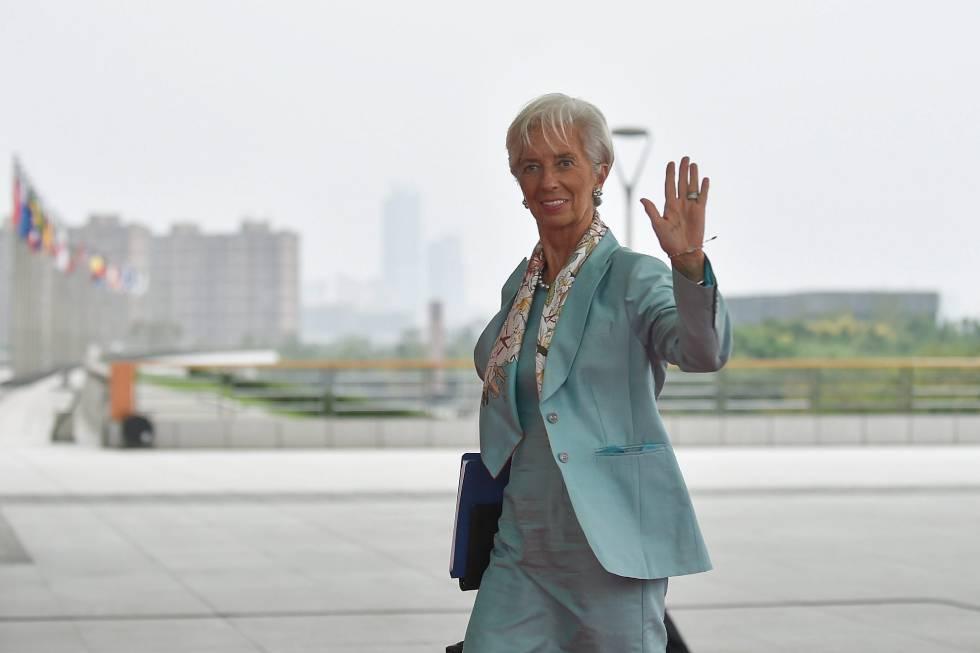 La directora del Fondo Monetario Internacional (FMI), Christine Lagarde, en una foto de archivo.