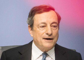 Draghi descarta un final abrupto del plan del BCE de compra de deuda