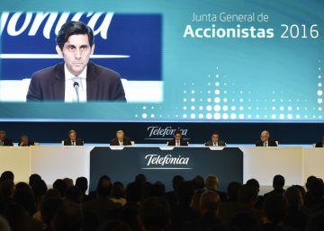 Telefónica ampliará capital hasta en un 4% para el pago del dividendo