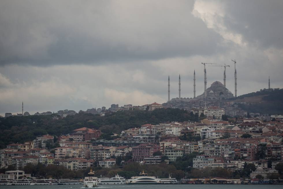 Una panorámica de Estambúl (Turquía)