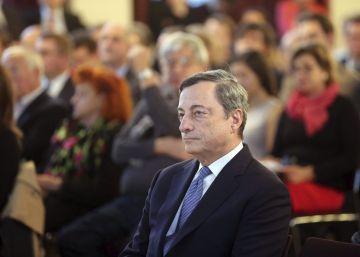 """Draghi: """"El euro será vulnerable mientras no concluya la unión monetaria"""""""
