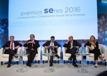 Seres premia el compromiso con el empleo, la inclusión y el desarrollo sostenible