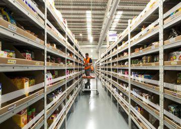 Amazon destapa su almacén 'secreto' para competir con supermercados