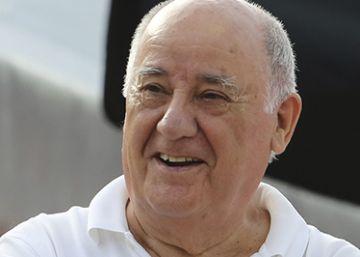 Amancio Ortega, los dueños de Mercadona y Rafael del Pino, los más ricos de España
