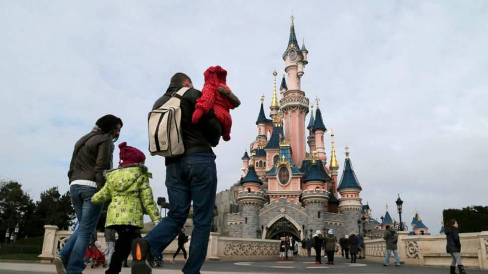 El parque de atracciones Eurodisney, en París.
